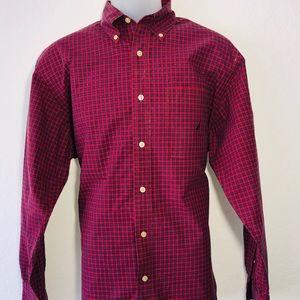 Náutica Men's Shirt Long Sleeve Size M